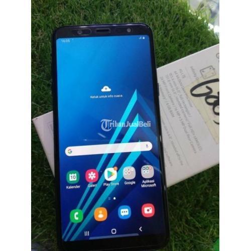 HP Samsung A6 Plus 4/32GB Bekas Fullset Ori Nominus Harga Murah - Solo