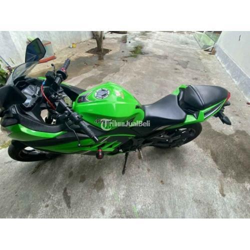 Motor Sport Bekas Kawasaki Ninja Fi SE 2013 Mesin Segel Mulus Pajak Panjang Harga Nego - Solo
