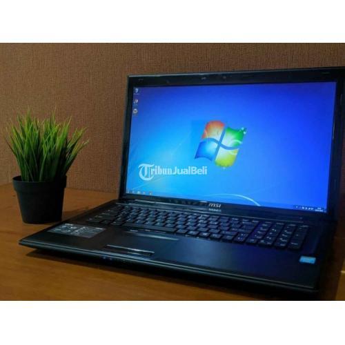 Laptop MSI Bekas Harga Murah Mulus Ram 4GB - Jakarta Pusat