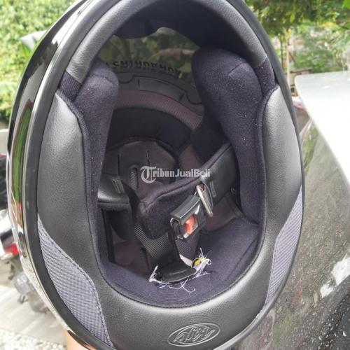 Helm Full Face KYT R10 Size L Bekas Mulus Lengkap Dus Sarung Harga Nego - Solo