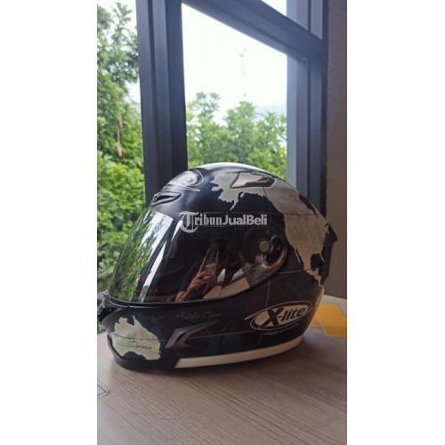 Helm Full Face Bekas Xlite X802R Checa Black Matte Size L Lengkap Harga Murah - Solo