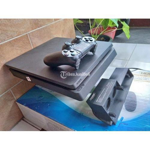 Konsol Game Sony PS4 Slim 500GB Segel Void Normal No Kendala Harga Murah - Solo