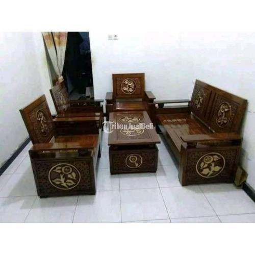 Kursi Tamu Jati Asli Harga Murah Kualitas Terjamin Bayar COD - Yogyakarta