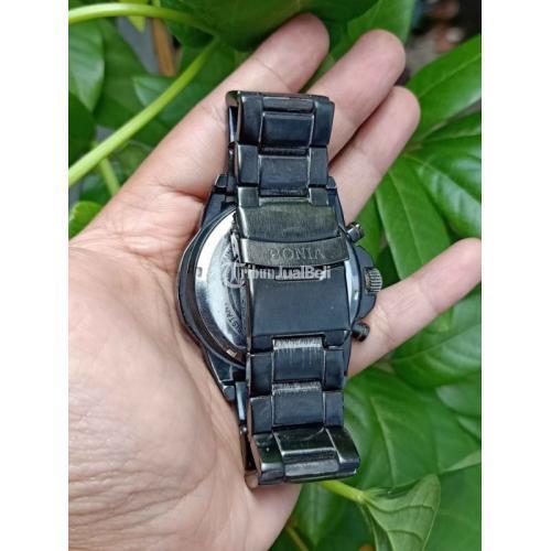 Jam Tangan Bonia Chronograph Diameter 45mm Bekas Aktif Harga Murah - Jogja