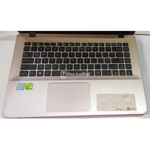 Laptop Asus X442UR Gold Win 10 Pro Bekas Normal Siap Pakai Harga Nego - Semarang