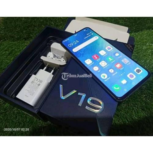 Vivo V19 Pro Hp Fullset Nominus Mulus Bekas Warna Putih - Semarang