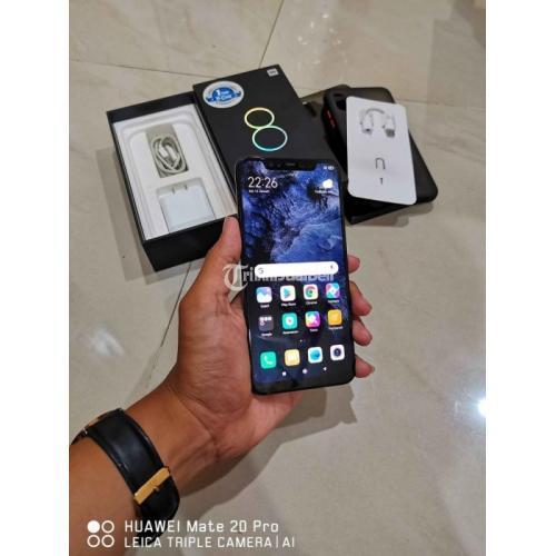 HP Xiaomi Mi 8 6/128GB Bekas Fullset Nominus Bisa TT Harga Murah - Solo