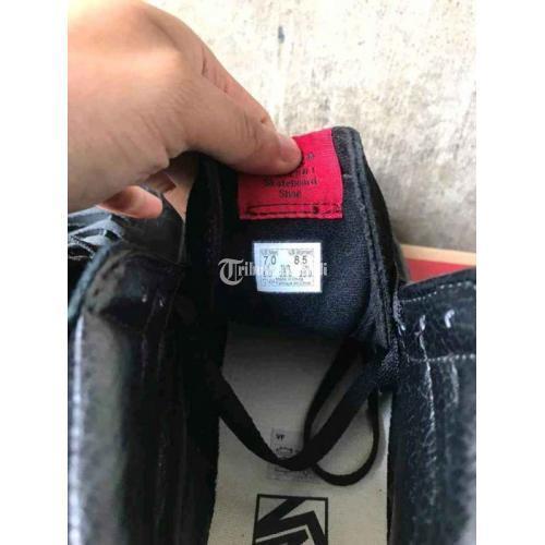 Sepatu Vans Sk8 Hi Full Black Size 39 Second Like New 2x Pakai Harga Murah - Solo