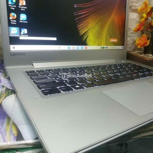 Laptop Lenovo Ideapad 510S Core i5 Gen 7 Dual VGA Bekas Normal Siap Pakai Harga Murah - Jogja