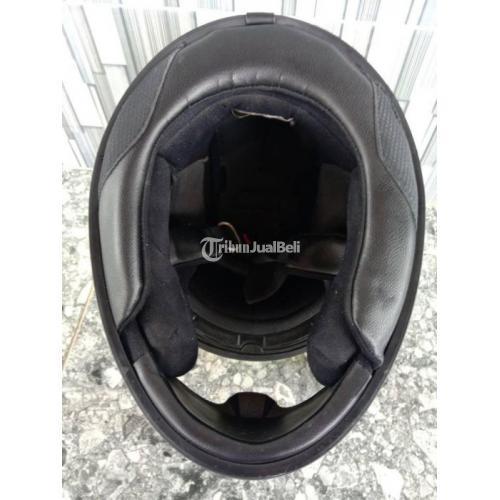 Helm Full Face KYT R10 Size L Warna Kuning Merah Bekas Mulus Aman Harga Nego - Klaten