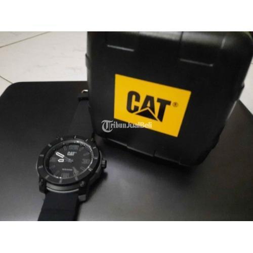 Jam Tangan CATERPILLAR Original Second Mulus Lengkap Dusbook Kartu Garansi - Jogja