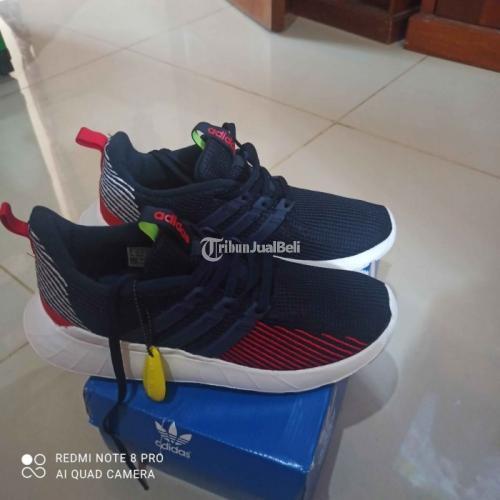 Sepatu Adidas Questar Flow Multicolor Uk42 Flow Navy Uk43 Baru Original - Semarang