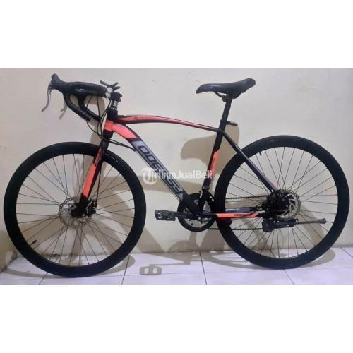 Sepeda Balap Roadbike Odessy Uk48 Bekas Normal Siap Pakai Harga Nego - Surabaya