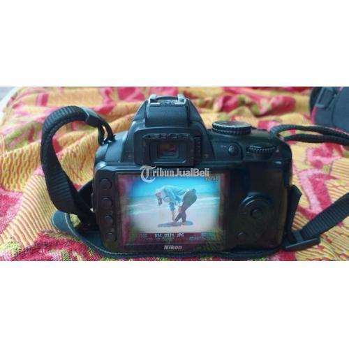 Kamera Nikon D3000 Lensa No JAMUR Include Tas dan Charger Harga Nego - Surabaya