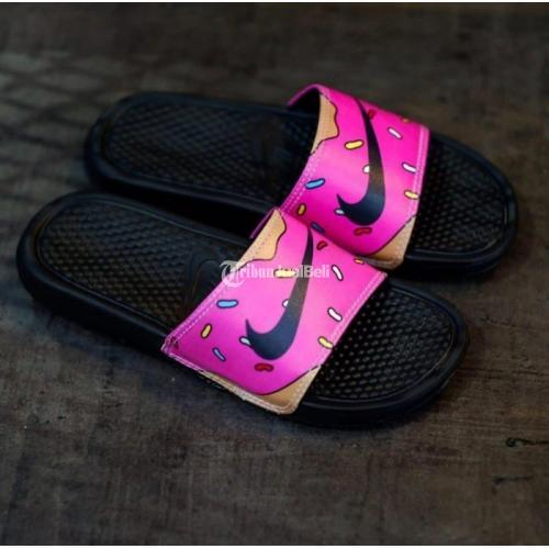 Nike Benassi X The Simpsons Donut Original Size Lengkap 40-44 - Solo