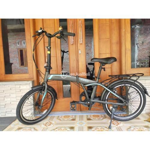 Sepeda Lipat Pacific 2990 Ukuran 20 Speed 7 Bekas Mulus Harga Murah - Jogja