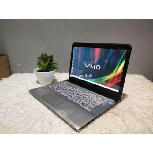 Laptop Sony VAIO Touchscreen Ram 8GB Bekas Normal Garansi Toko - Semarang