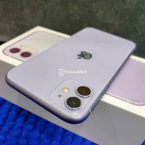 HP Apple iPhone 11 64GB Fullset Normal Nominus Siap Pakai Harga Murah - Semarang