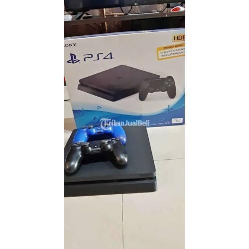 Sony PS4 1TB 2 Stik 19 Game Bekas Siap Pakai Normal Original Harga Murah - Semarang