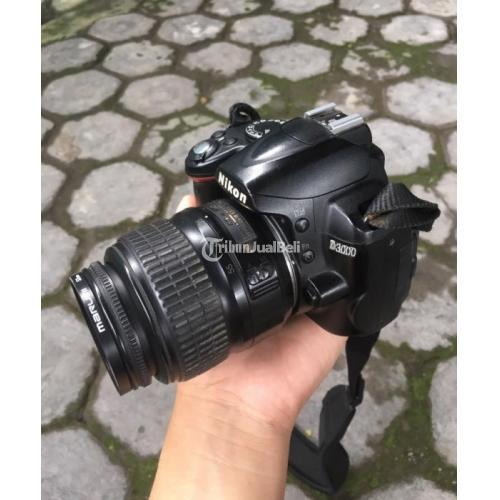 Kamera Nikon D3000 Bonus UV Filter Include Baterai Tas Harga Murah - Semarang