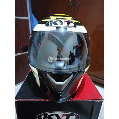 Helm Full Face KYT Vendetta Iannone Size M Bekas Mulus Jarang Pakai Harga Nego - Surabaya