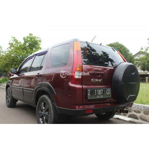 Honda New CRV Gen2 Manual iVTEC 3Baris 2003 CR-V 1Tangan Orsinil SE - Bandung