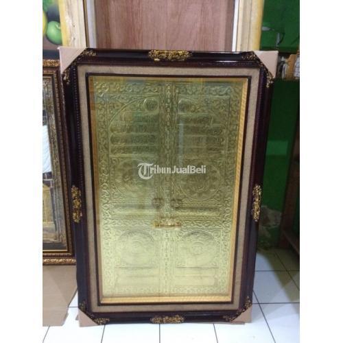 Kaligrafi Pintu Kakbah Bahan Kuningan Fiber Harga Murah Banyak Jenis - Makassar
