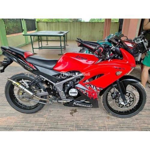 Motor Kawasaki Ninja RR 2013 Surat Lengkap Pajak Hidup Harga Nego - Pontianak