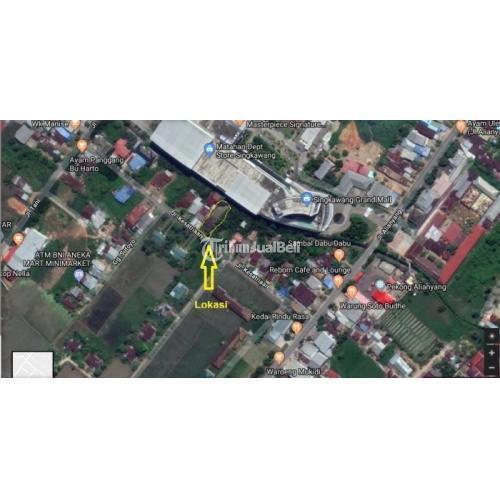 Dikual Rumah Lokasi Strategis Dekat Grand Mall Singkawang SHM Air PDAM - Singkawang