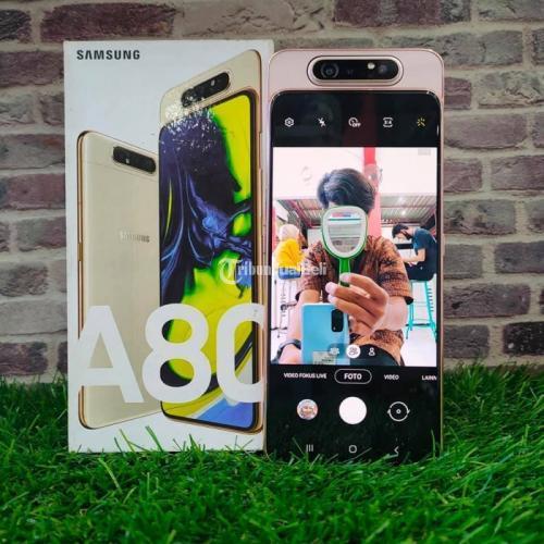 HP Samsung A80 Bekas Mulus Nominus Fullset Garansi Personal Harga Murah - Solo
