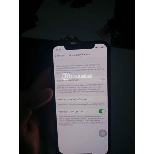 Hp iPhone X 256GB Warna Hitam Mesin Normal Mulus Nominus iCloud Aman - Jakarta Selatan