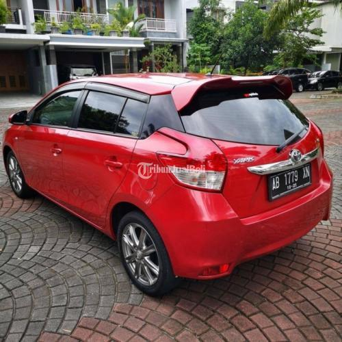 Mobil Toyota Yaris 1.5G 2015 Harga Nego Bisa Kredit Bekas Warna Merah - Sleman