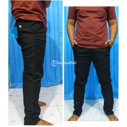 Celana Chinos Panjang Premium Stretch Combed Size 27-44 4 Varian Warna - Bantul