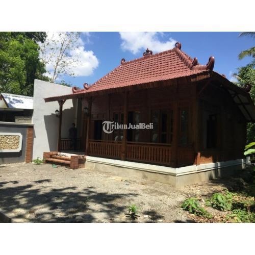 Dijual Rumah Joglo Etnik Harga Murah SHM Luas 50 M2 2 Kamar Carport Dekat Kampus UMY - Bantul