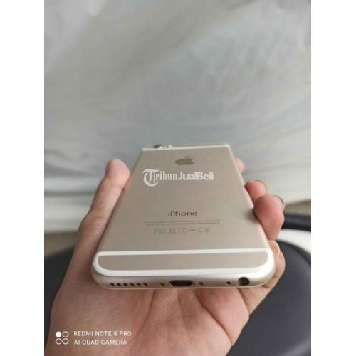 HP iPhone 6 64GB Gold Mulus Nominus Include Handfree Harga Nego - Jakarta Selatan