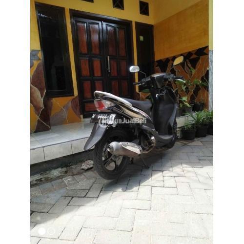 Motor Yamaha Mio 2008 Hitam Mesin Standar Doble Surat Lengkap Kondisi Normal -