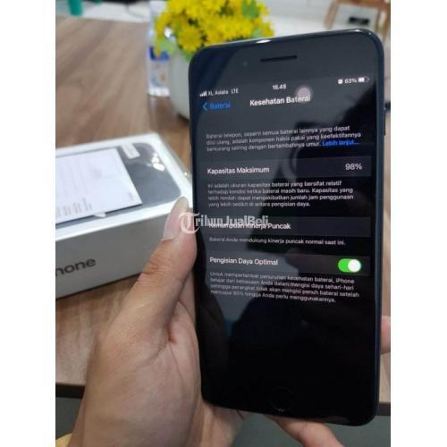 HP Apple Bekas iPhone 7 Plus 128GB iBox Garansi On Nominus Mulus - Bandung