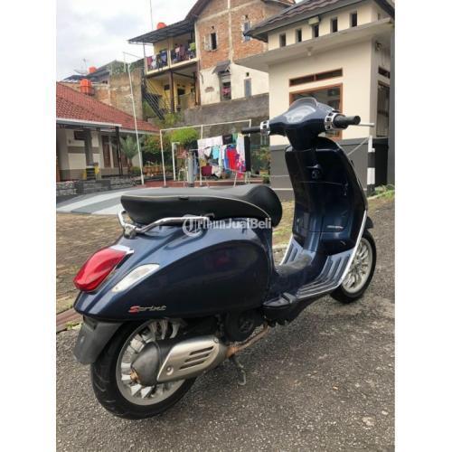 Motor Bekas Vespa Sprint 150 3v 2016 Pajak Panjang Surat Lengkap Harga Nego - Bandung