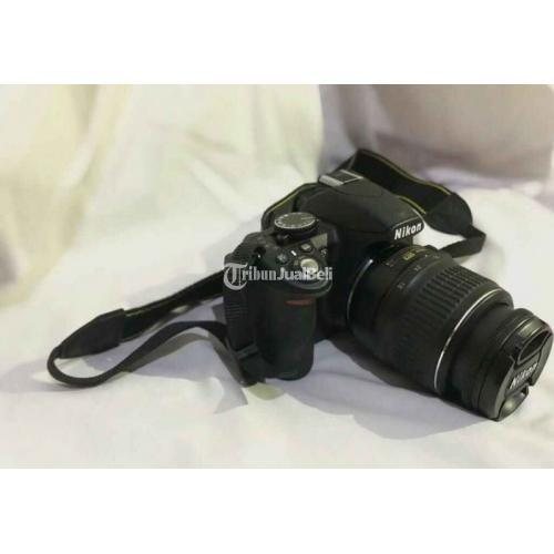 Kamera Nikon D300 Lensa 18-55mm Kondisi Mulus LCD Aman Harga Nego - Jakarta Sela