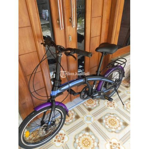 Sepeda Lipat Pacific 2980 Bekas Ukuran 20 Speed 7 Normal Mulus Harga Murah - Jogja