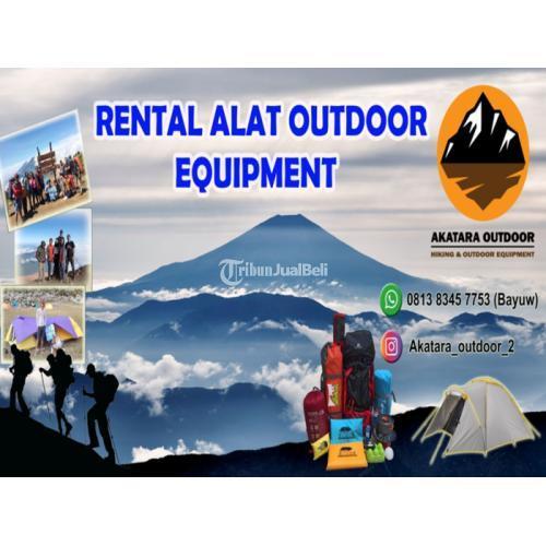 Sewa Rental Alat Camping Harga Murah Lengkap - Jakarta Timur