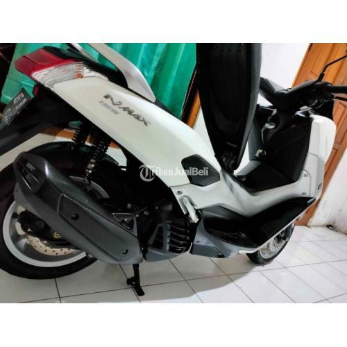 Motor Yamaha NMax 2017 Putih Pajak Hidup Surat Lengkap Harga Nego - Solo