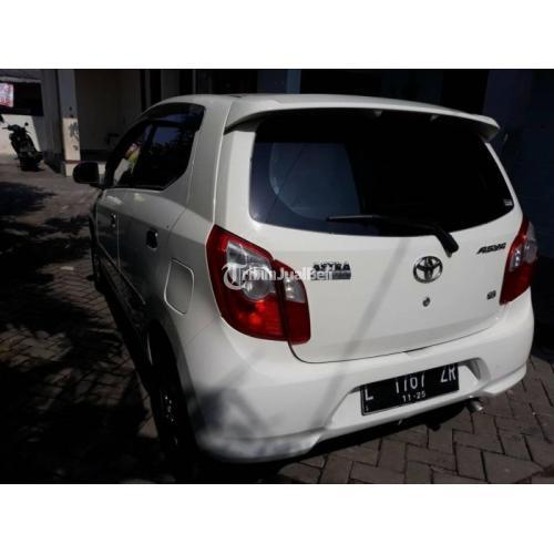 Mobil Toyota Agya 2015 Warna Putih Surat Lengkap Mesin Orisinil - Surabaya