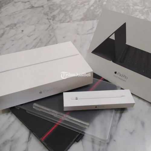 Ipad Pro Wifi Cell 2017 128GB | Apple Pencil Gen 1 | Ipad Pro Smart Keyboard - Surabaya