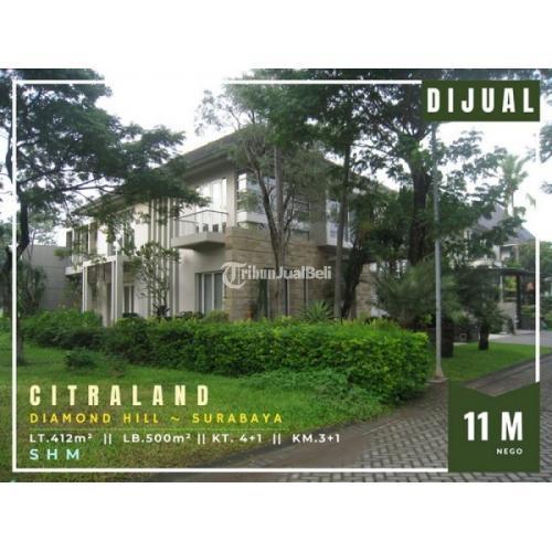 Dijual Rumah Citraland Diamond Hill Luas 500 m² 2 Lantai  - Surabaya