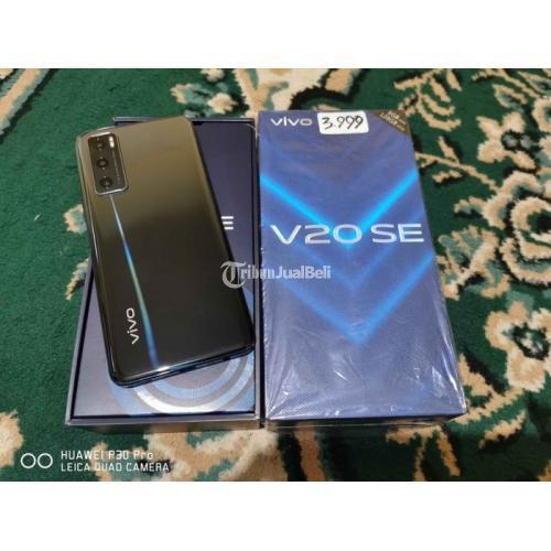 HP Bekas Vivo V20 SE 8/128GB Fullset Normal Segel Garansi Aktif - Surabaya