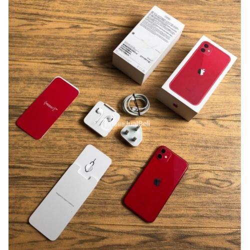 HP Apple iPhone 11 256GB Bekas Fullset Ori Singapore Like New Mulus - Jakarta