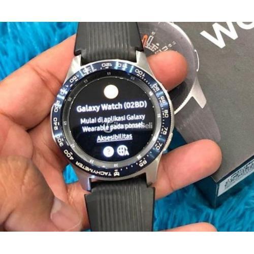 Samsung Galaxy Watch 46MM Fullset Mulus Bekas Like New No Kendala - Semarang