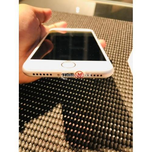 HP iPhone 7 128GB Silver Bekas Fullset Kondisi Normal Mulus Nominus - Yogyakarta
