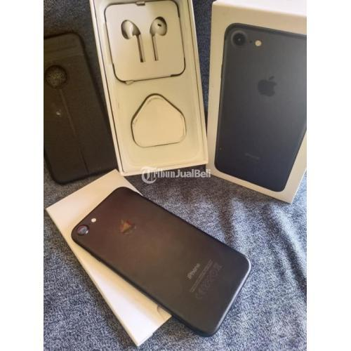 HP Apple iPhone 7 32GB Bekas Fullset Ori Mulus Segel Fungsi Normal - Semarang